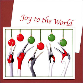 Joy To The World by Kim Russell | 5 World Cranes