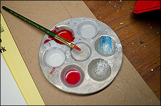 Kim Russell Favorite Paint Tray